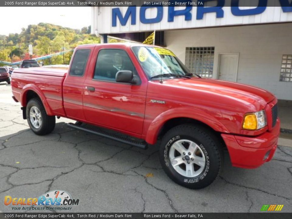 2005 ford ranger edge supercab 4x4 torch red medium dark flint photo 2. Black Bedroom Furniture Sets. Home Design Ideas