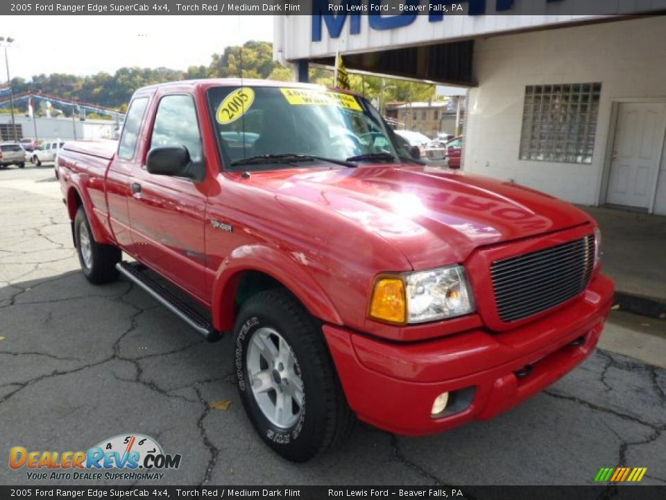 2005 ford ranger edge supercab 4x4 torch red medium dark flint photo 3. Black Bedroom Furniture Sets. Home Design Ideas