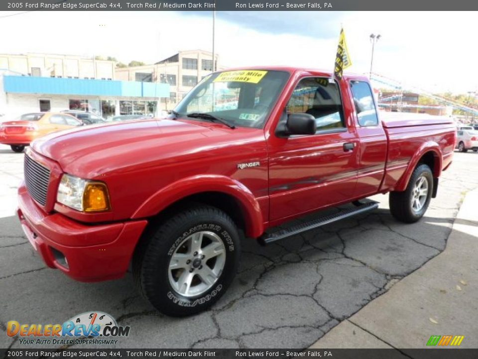 2005 ford ranger edge supercab 4x4 torch red medium dark flint photo 5. Black Bedroom Furniture Sets. Home Design Ideas