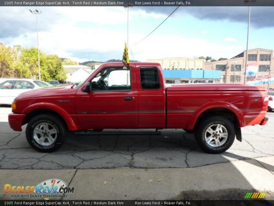 2005 ford ranger edge supercab 4x4 torch red medium dark flint photo 6. Black Bedroom Furniture Sets. Home Design Ideas