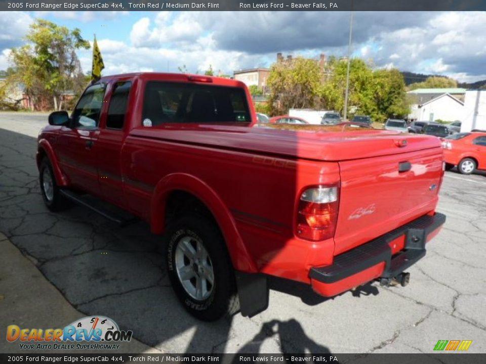 2005 ford ranger edge supercab 4x4 torch red medium dark flint photo 8. Black Bedroom Furniture Sets. Home Design Ideas