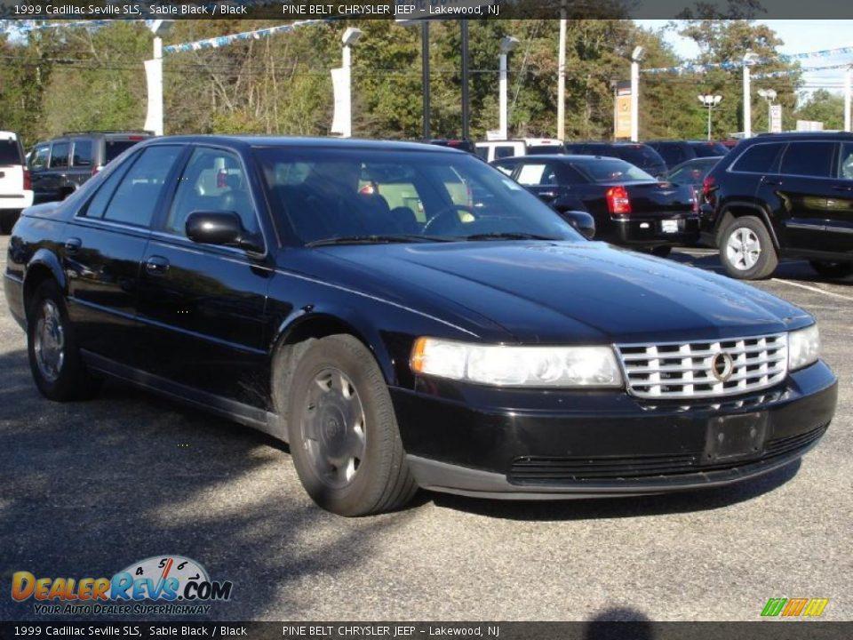 1999 Cadillac Seville Sls Sable Black Black Photo 3