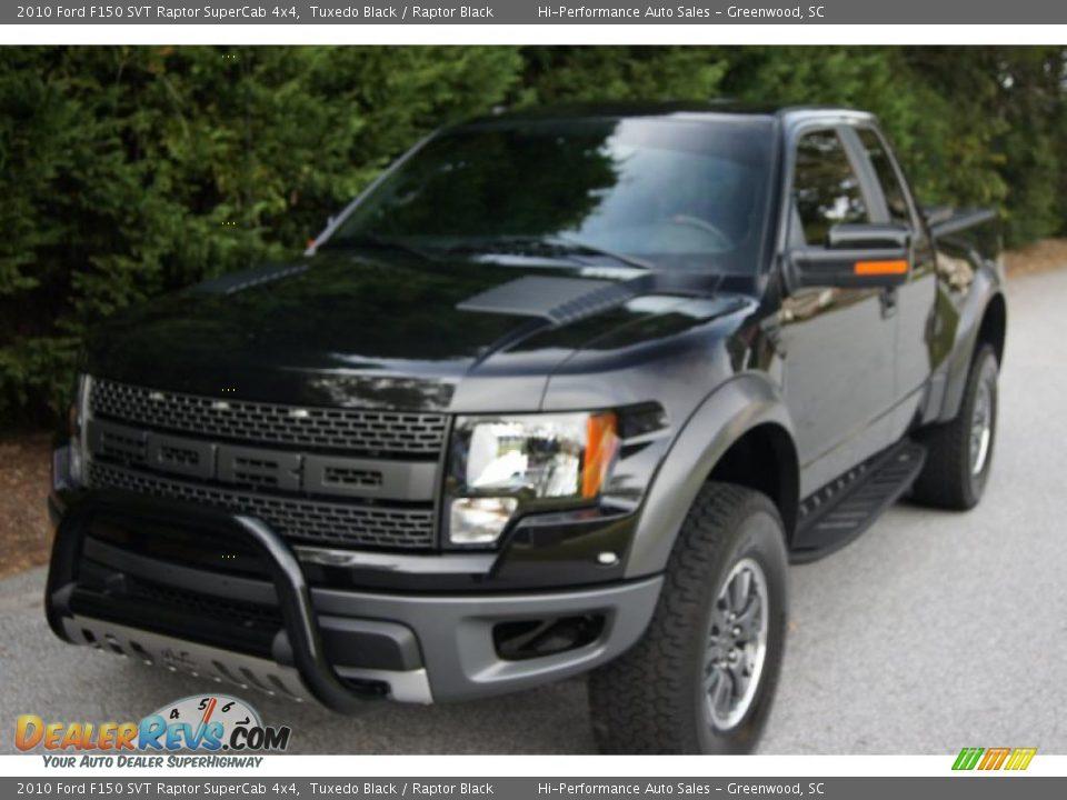2010 Ford F150 Svt Raptor Supercab 4x4 Tuxedo Black