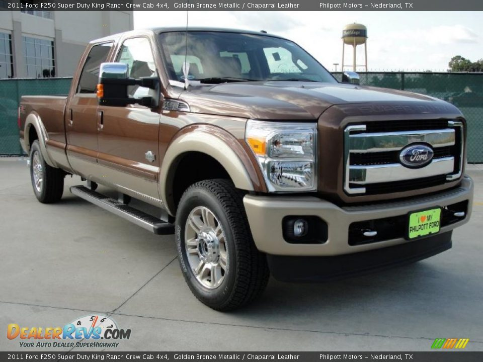 Front 3 4 view of 2011 ford f250 super duty king ranch for King motors auto sales