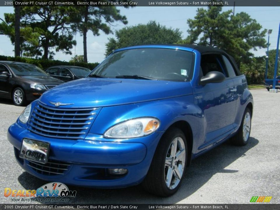 2005 chrysler pt cruiser gt convertible electric blue. Black Bedroom Furniture Sets. Home Design Ideas