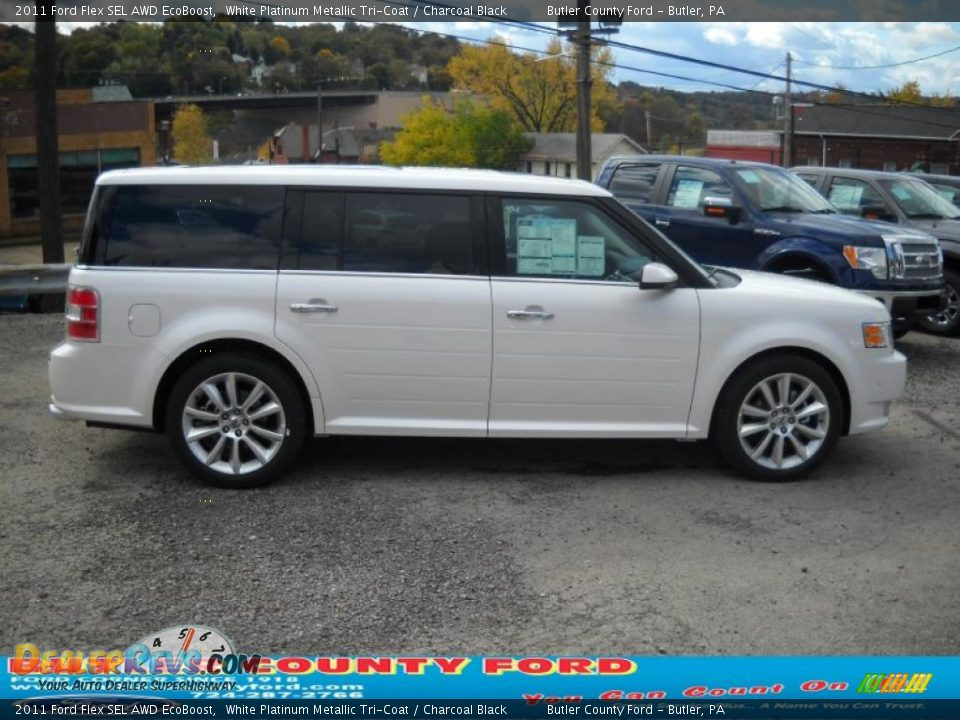 2011 ford flex sel awd ecoboost white platinum metallic. Black Bedroom Furniture Sets. Home Design Ideas