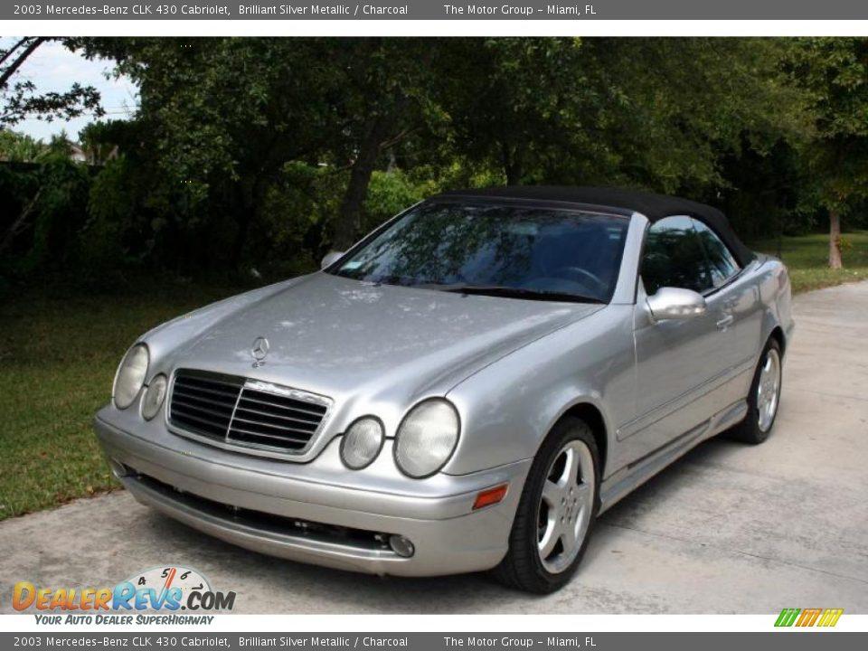 2003 mercedes benz clk 430 cabriolet brilliant silver for 2003 mercedes benz clk430