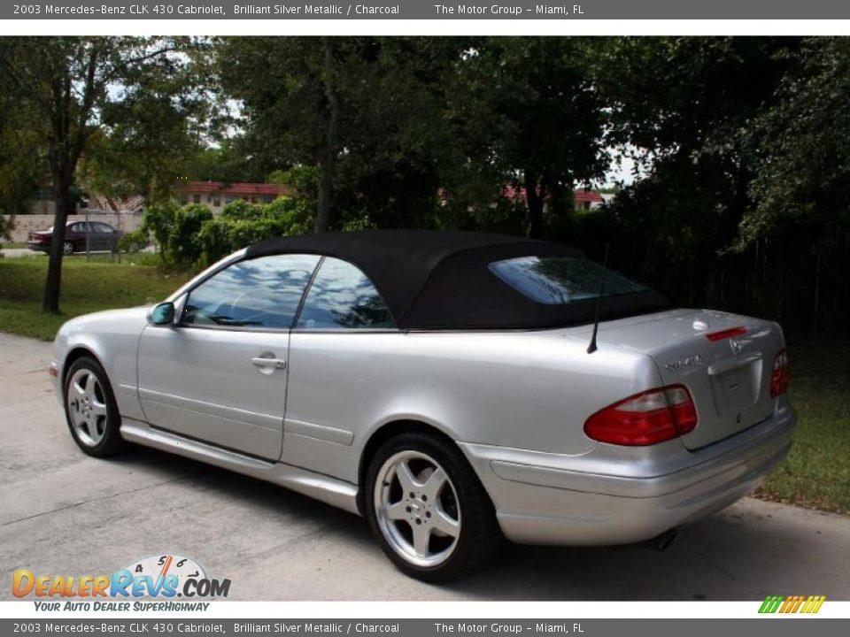 2003 mercedes benz clk 430 cabriolet brilliant silver for Mercedes benz 430 clk