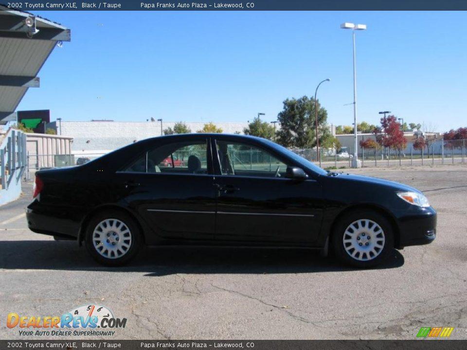 Toyota Camry 2002 Black 2002 Toyota Camry Xle Black