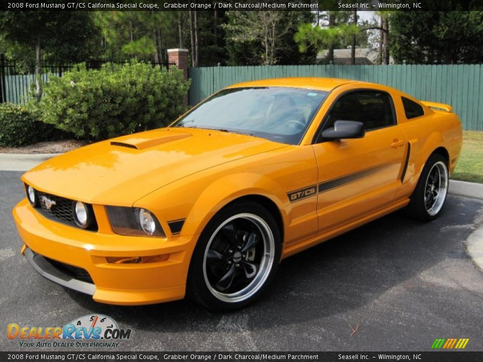 Front 3 4 View Of 2008 Ford Mustang Gt Cs California