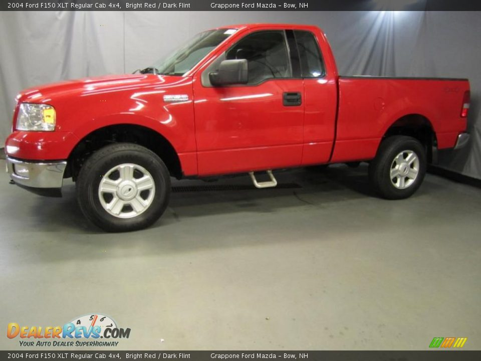 2004 ford f150 xlt regular cab 4x4 bright red dark flint. Black Bedroom Furniture Sets. Home Design Ideas