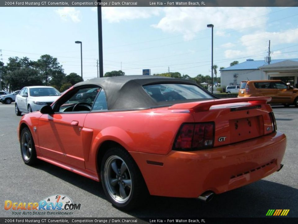 2004 ford mustang gt convertible competition orange dark. Black Bedroom Furniture Sets. Home Design Ideas