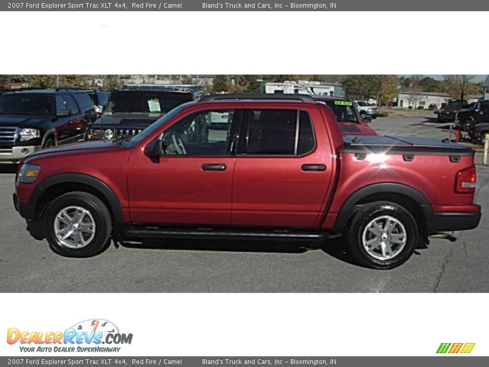 2007 ford explorer sport trac xlt 4x4 red fire camel photo 2. Cars Review. Best American Auto & Cars Review
