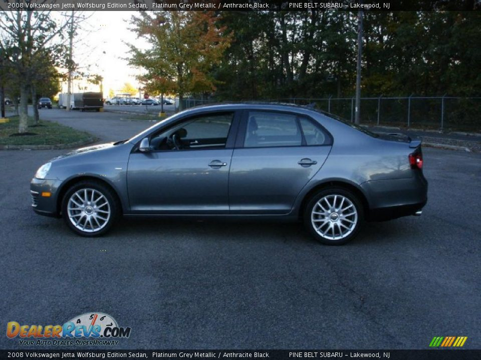 2008 volkswagen jetta wolfsburg edition sedan platinum. Black Bedroom Furniture Sets. Home Design Ideas