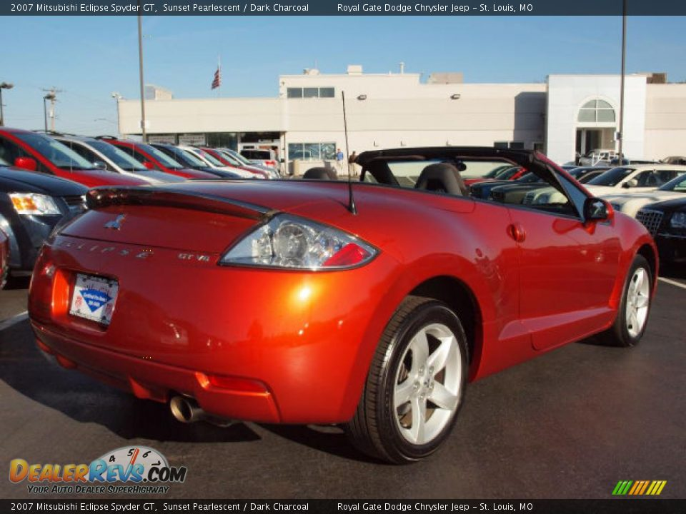 2007 mitsubishi eclipse spyder gt sunset pearlescent dark charcoal photo 3. Black Bedroom Furniture Sets. Home Design Ideas