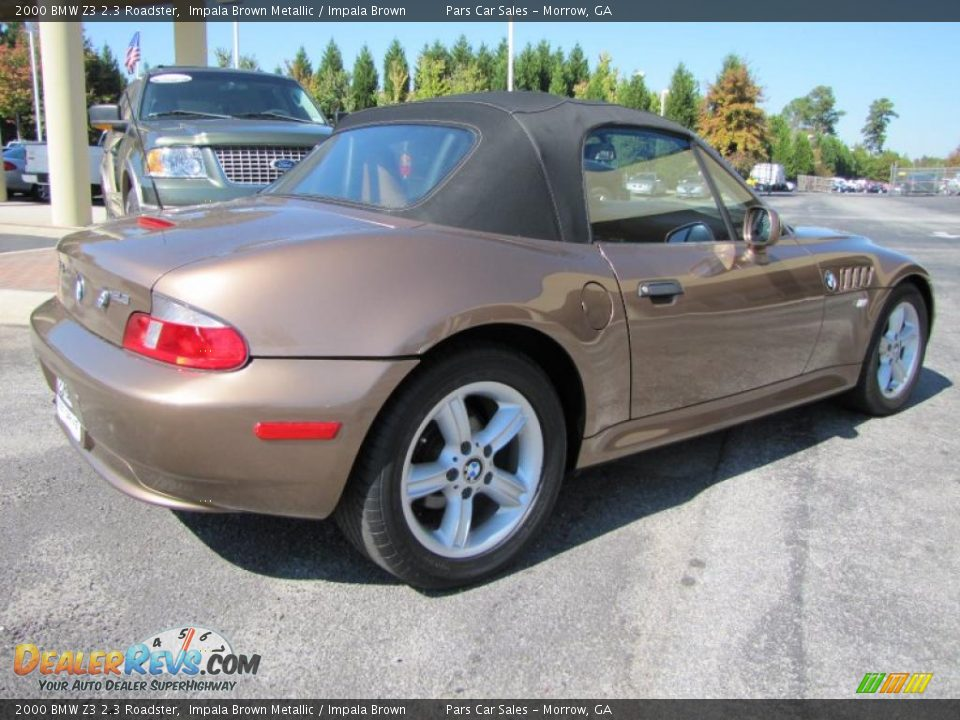 2000 bmw z3 2 3 roadster impala brown metallic impala. Black Bedroom Furniture Sets. Home Design Ideas