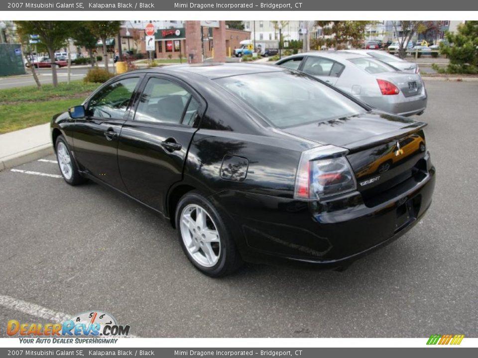 2007 Mitsubishi Galant SE Kalapana Black / Black Photo #6 | DealerRevs.com