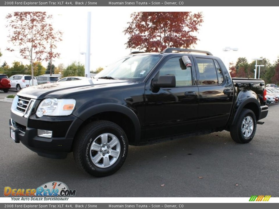 2008 Ford Explorer Sport Trac Xlt 4x4 Black Stone Photo