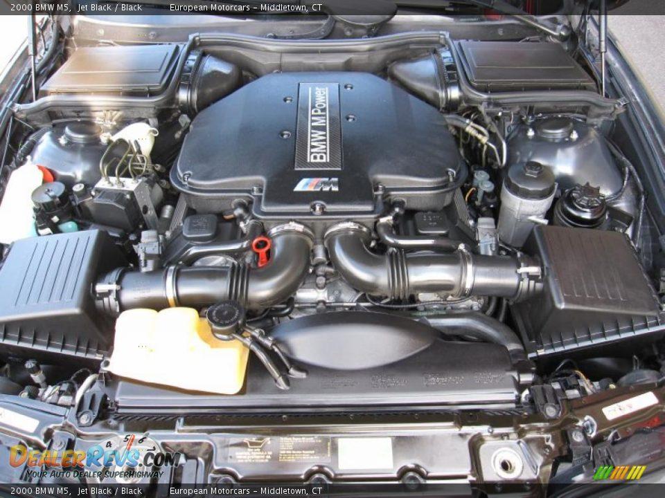 2000 bmw m5 5 0 liter dohc 32 valve v8 engine photo 8. Black Bedroom Furniture Sets. Home Design Ideas