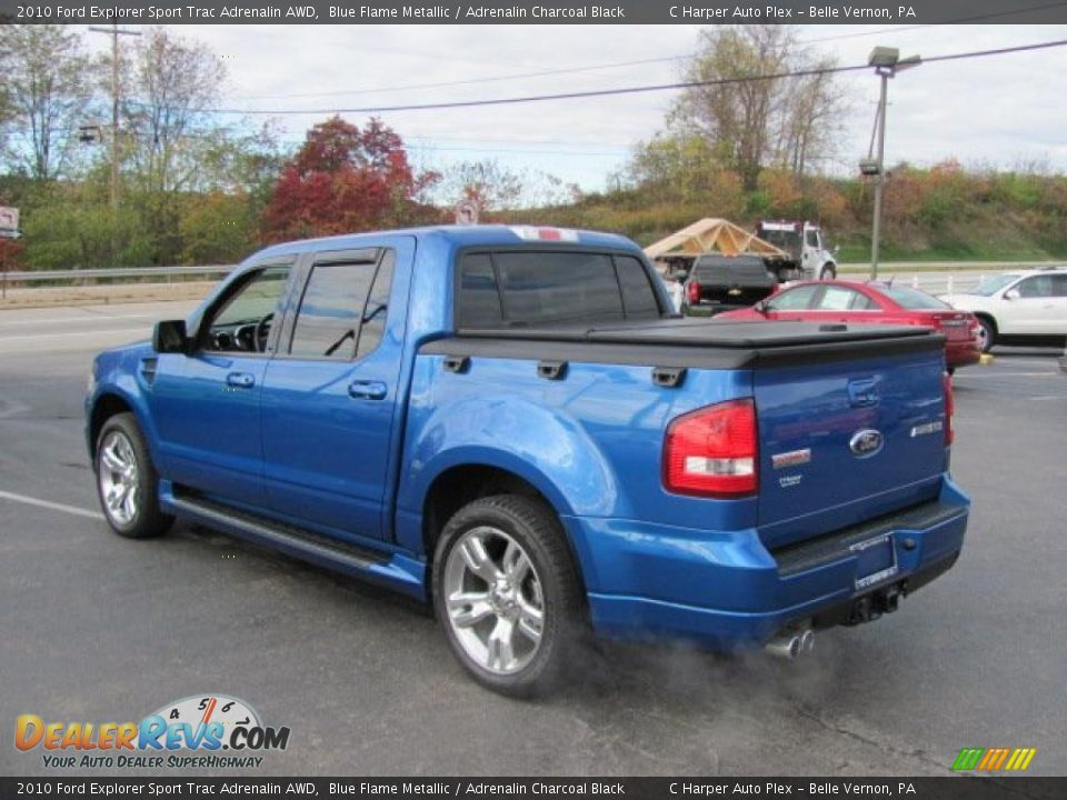 2010 ford explorer sport trac adrenalin awd blue flame metallic adrenalin charcoal black photo. Black Bedroom Furniture Sets. Home Design Ideas