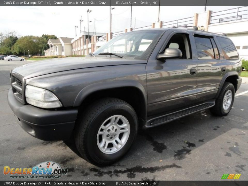 2003 Dodge Durango Sxt 4x4 Graphite Metallic Dark Slate