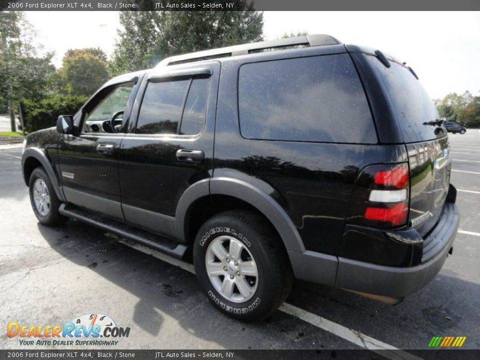 2006 Ford Explorer Xlt 4x4 Black Stone Photo 5