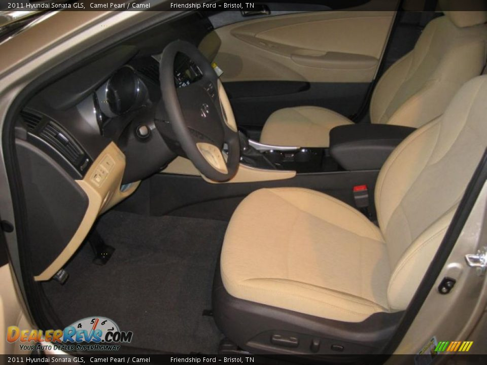 Camel Interior 2011 Hyundai Sonata Gls Photo 12