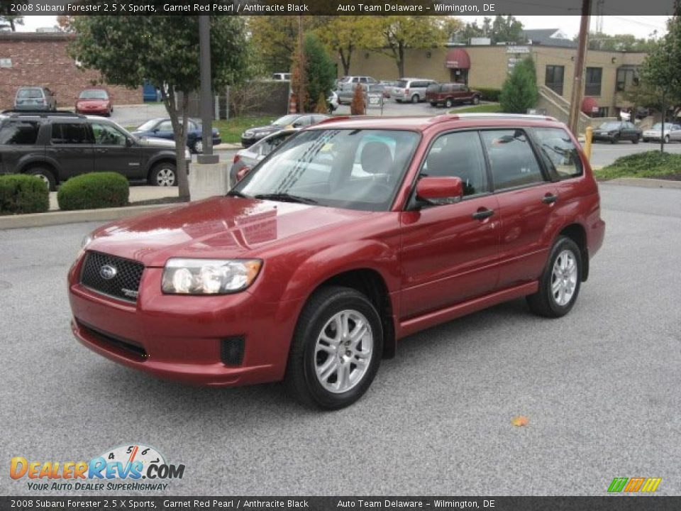front 3 4 view of 2008 subaru forester 2 5 x sports photo 2. Black Bedroom Furniture Sets. Home Design Ideas