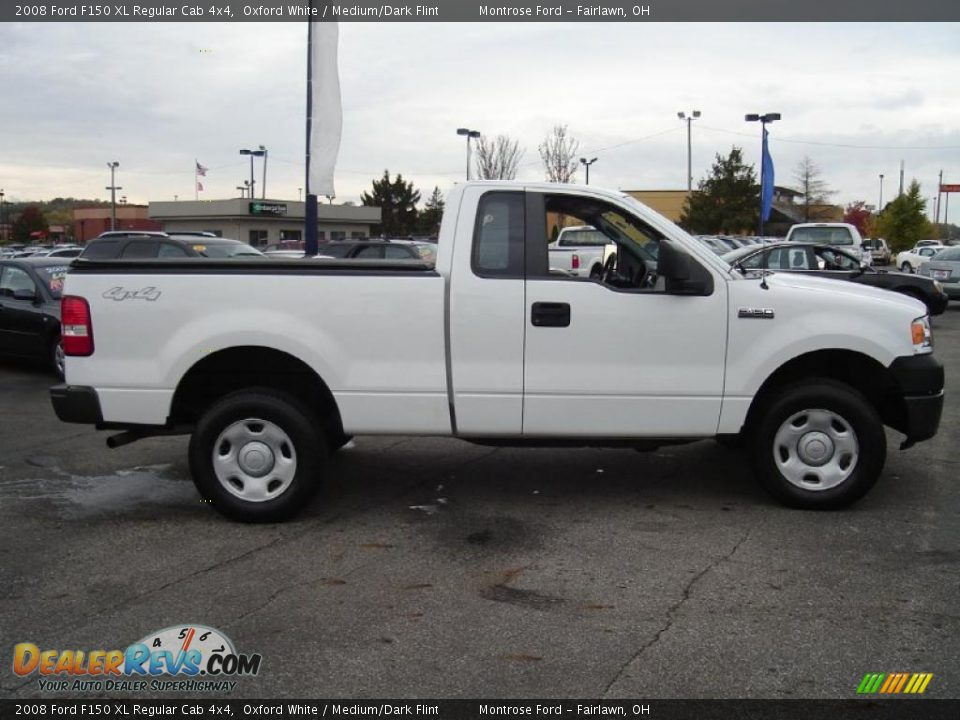 2008 Ford F150 Lariat For Sale Oxford White 2008 Ford F150 XL Regular Cab 4x4 Photo #6 | DealerRevs ...