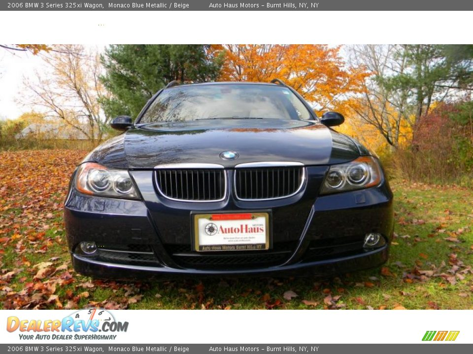 2006 bmw 3 series 325xi wagon monaco blue metallic beige photo 2. Black Bedroom Furniture Sets. Home Design Ideas