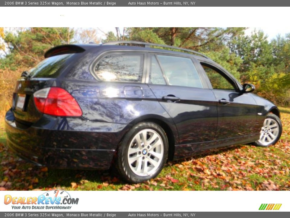 2006 bmw 3 series 325xi wagon monaco blue metallic beige photo 10. Black Bedroom Furniture Sets. Home Design Ideas