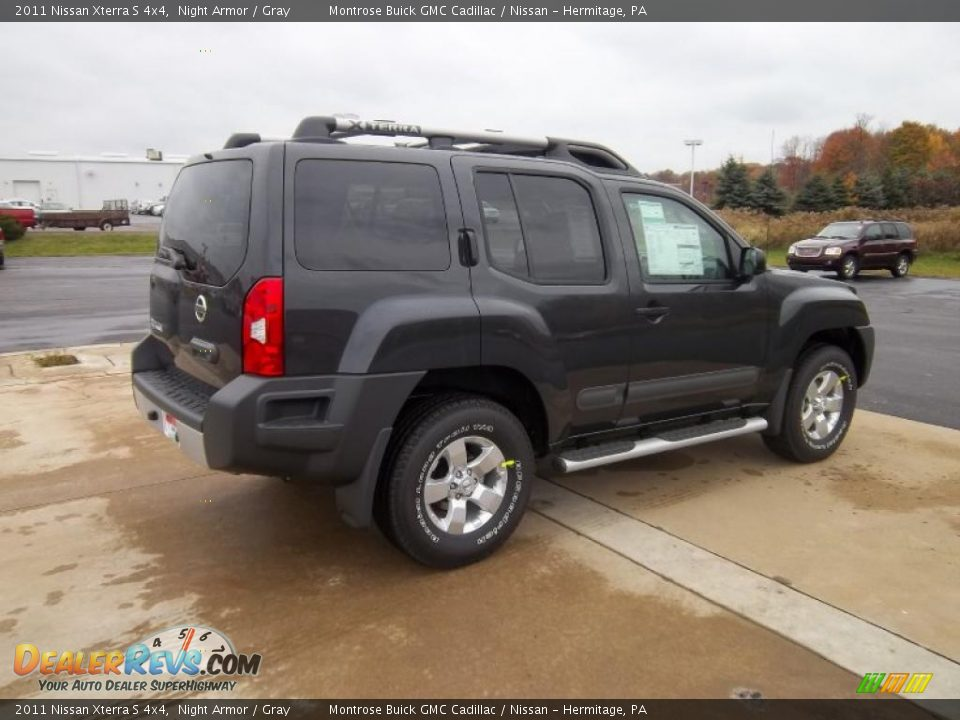 Used Nissan Xterra >> 2011 Nissan Xterra S 4x4 Night Armor / Gray Photo #9 | DealerRevs.com