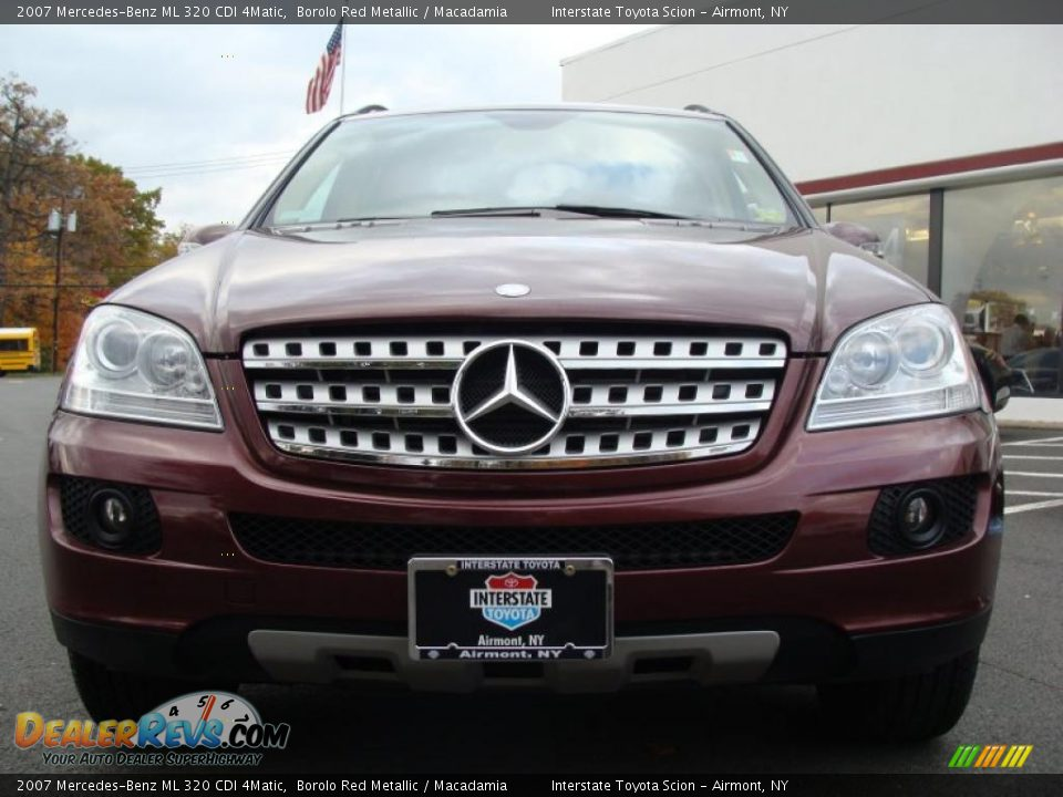 2007 mercedes benz ml 320 cdi 4matic borolo red metallic macadamia photo 2. Black Bedroom Furniture Sets. Home Design Ideas