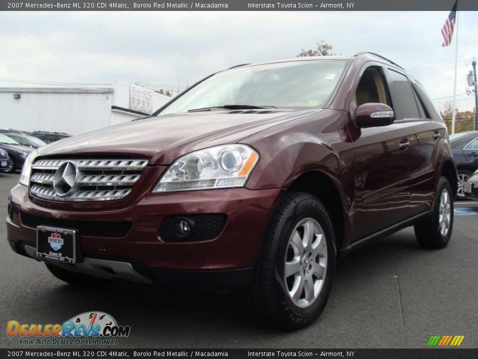 2007 mercedes benz ml 320 cdi 4matic borolo red metallic macadamia photo 3. Black Bedroom Furniture Sets. Home Design Ideas