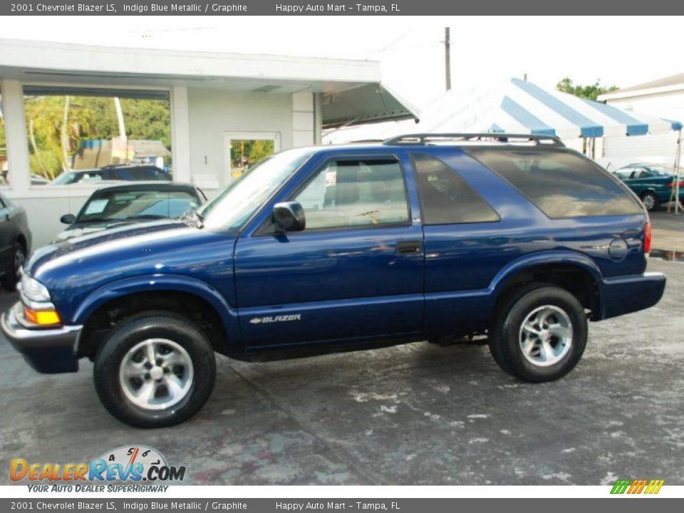 2001 Chevrolet Blazer Ls Indigo Blue Metallic Graphite