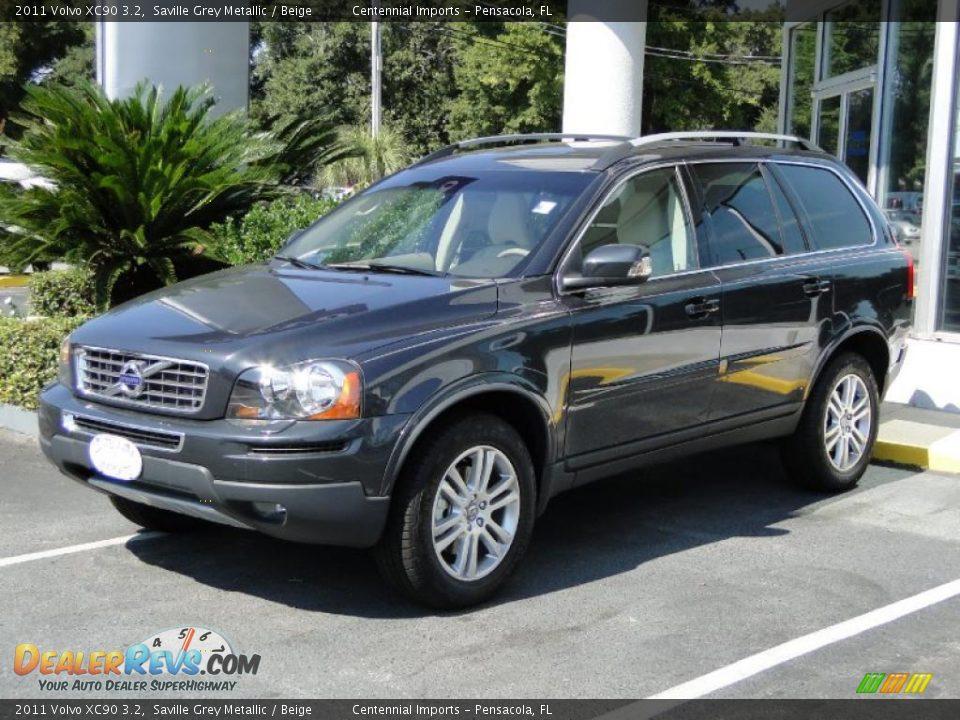 2011 Volvo Xc90 3 2 Saville Grey Metallic Beige Photo 1