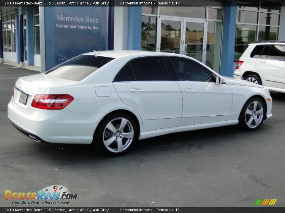 2010 mercedes benz e 350 sedan arctic white ash gray for 2010 mercedes benz e350 sedan