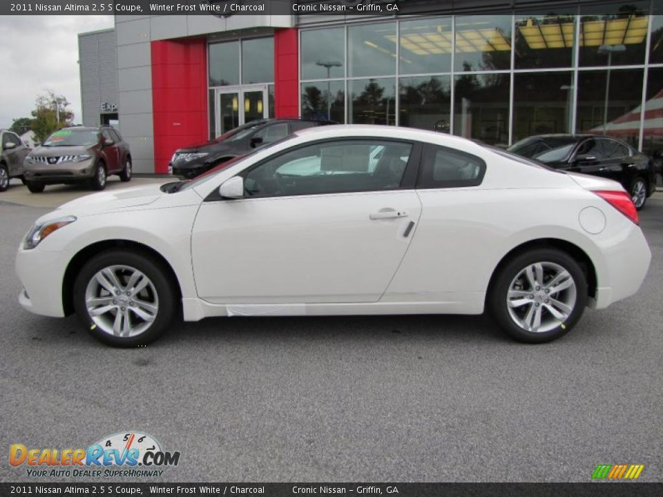 2011 nissan altima 2 5 s coupe winter frost white. Black Bedroom Furniture Sets. Home Design Ideas