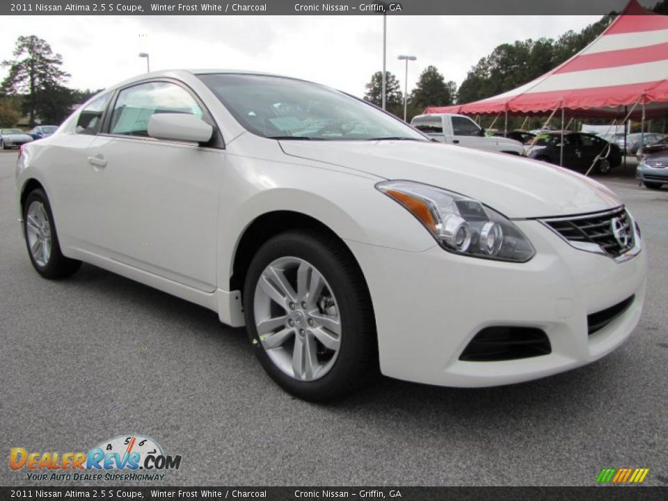 winter frost white 2011 nissan altima 2 5 s coupe photo 7. Black Bedroom Furniture Sets. Home Design Ideas