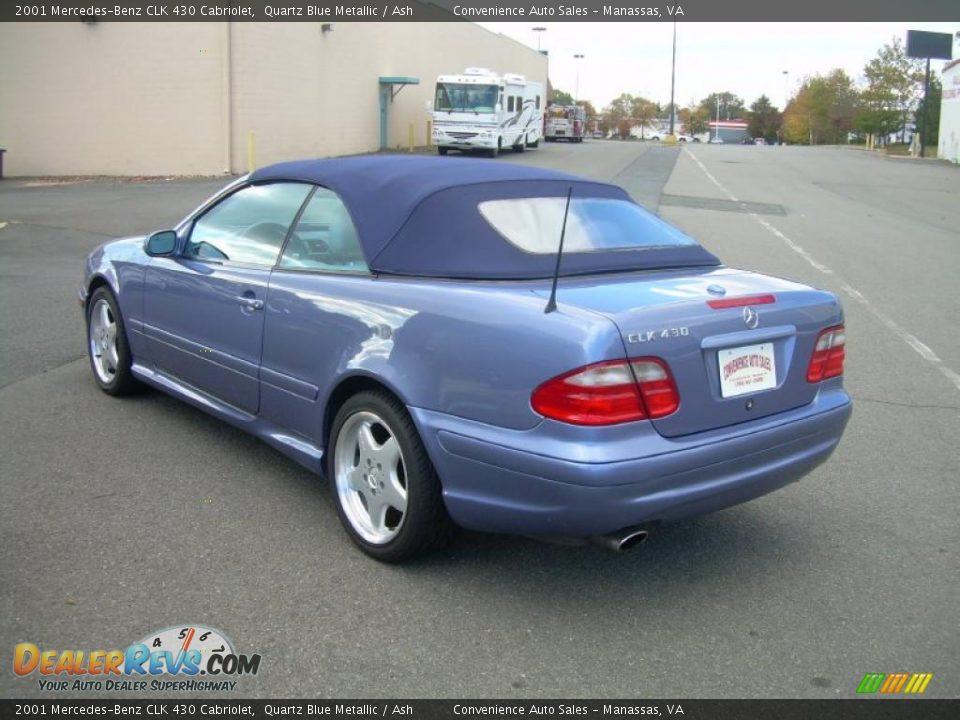 2001 mercedes benz clk 430 cabriolet quartz blue metallic for Mercedes benz 430 clk