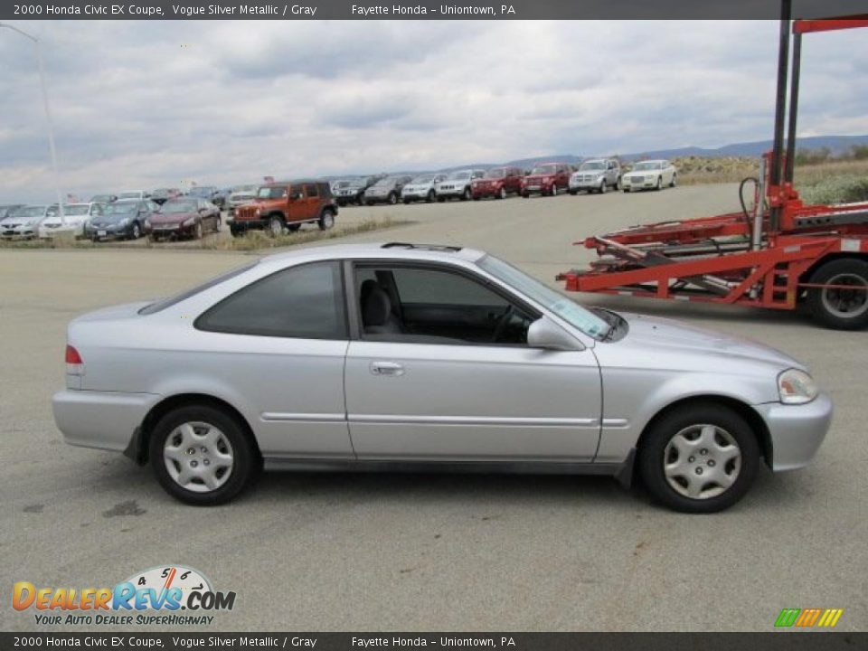 Vogue Silver Metallic 2000 Honda Civic EX Coupe Photo #12 | DealerRevs ...