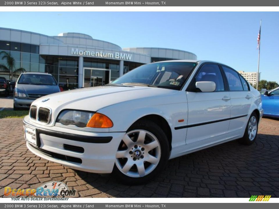 2000 bmw 3 series 323i sedan alpine white sand photo 1. Black Bedroom Furniture Sets. Home Design Ideas