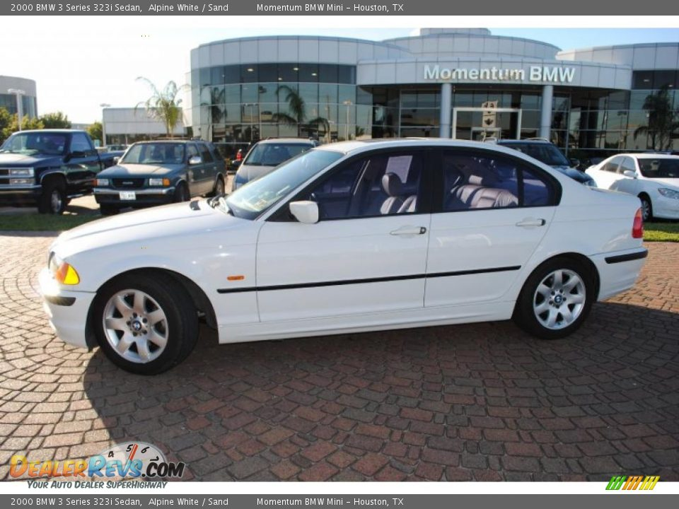 2000 bmw 3 series 323i sedan alpine white sand photo 2. Black Bedroom Furniture Sets. Home Design Ideas