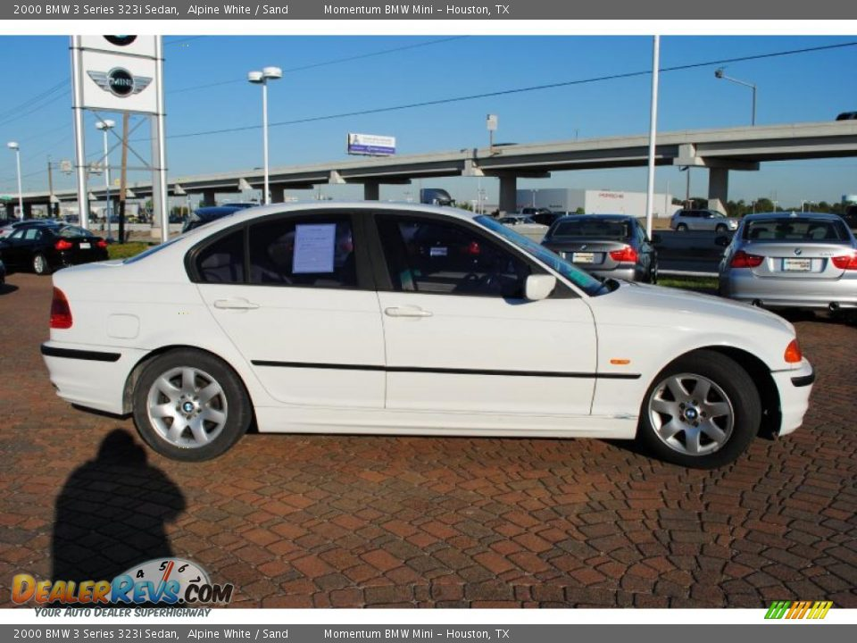 2000 bmw 3 series 323i sedan alpine white sand photo 6. Black Bedroom Furniture Sets. Home Design Ideas