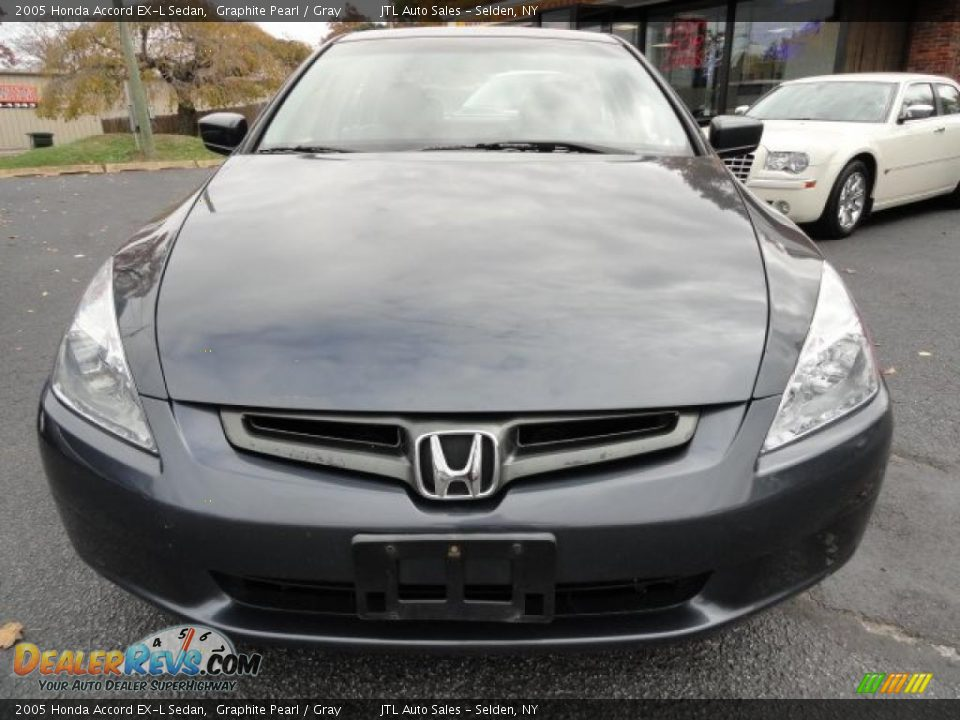 2005 honda accord ex l sedan graphite pearl gray photo. Black Bedroom Furniture Sets. Home Design Ideas
