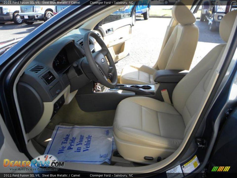 camel interior 2011 ford fusion sel v6 photo 9. Black Bedroom Furniture Sets. Home Design Ideas