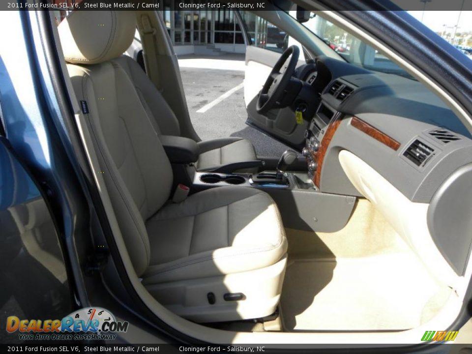 camel interior 2011 ford fusion sel v6 photo 12. Black Bedroom Furniture Sets. Home Design Ideas