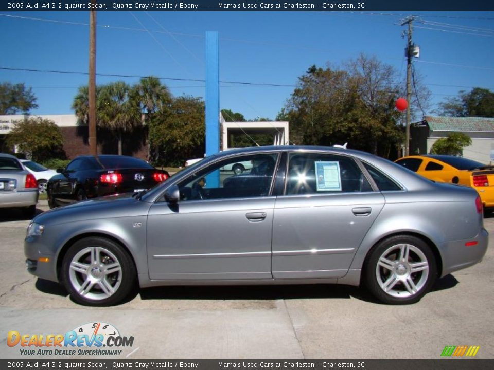 quartz gray metallic 2005 audi a4 3 2 quattro sedan photo 5. Black Bedroom Furniture Sets. Home Design Ideas