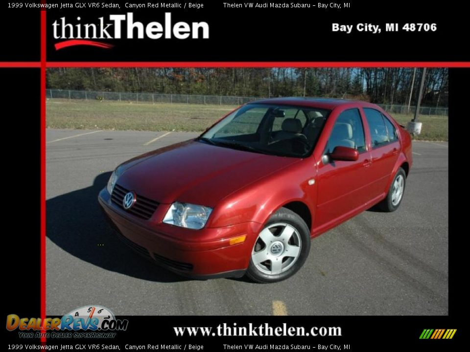 1999 volkswagen jetta glx vr6 sedan canyon red metallic beige photo 1 dealerrevs com 1999 volkswagen jetta glx vr6 sedan canyon red metallic beige photo 1 dealerrevs com