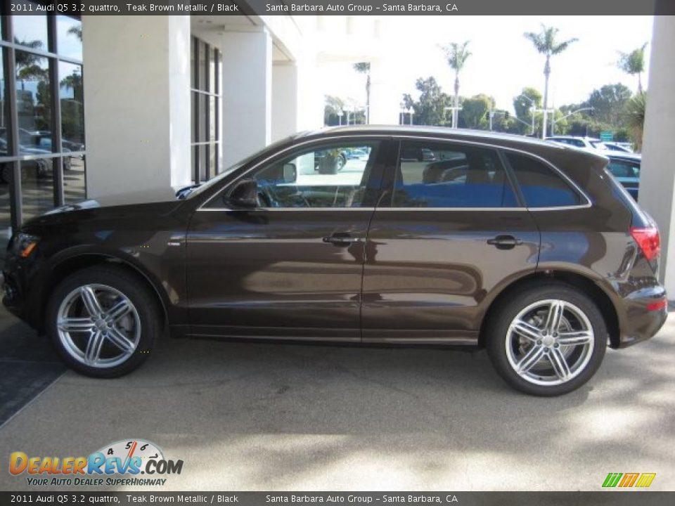 2011 Audi Q5 3 2 Quattro Teak Brown Metallic Black Photo
